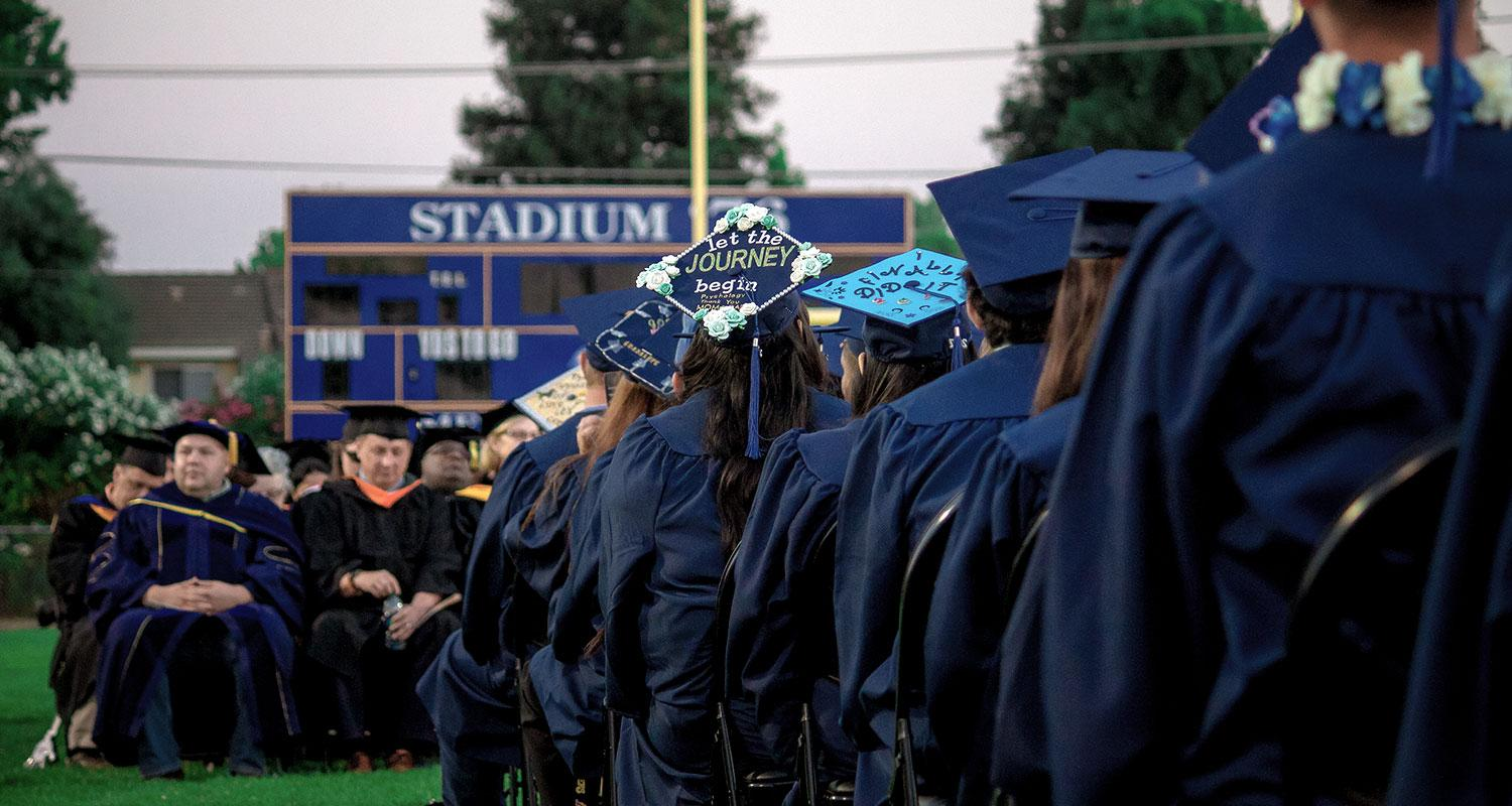 Commencement is Friday, May 24 at 6 p.m.