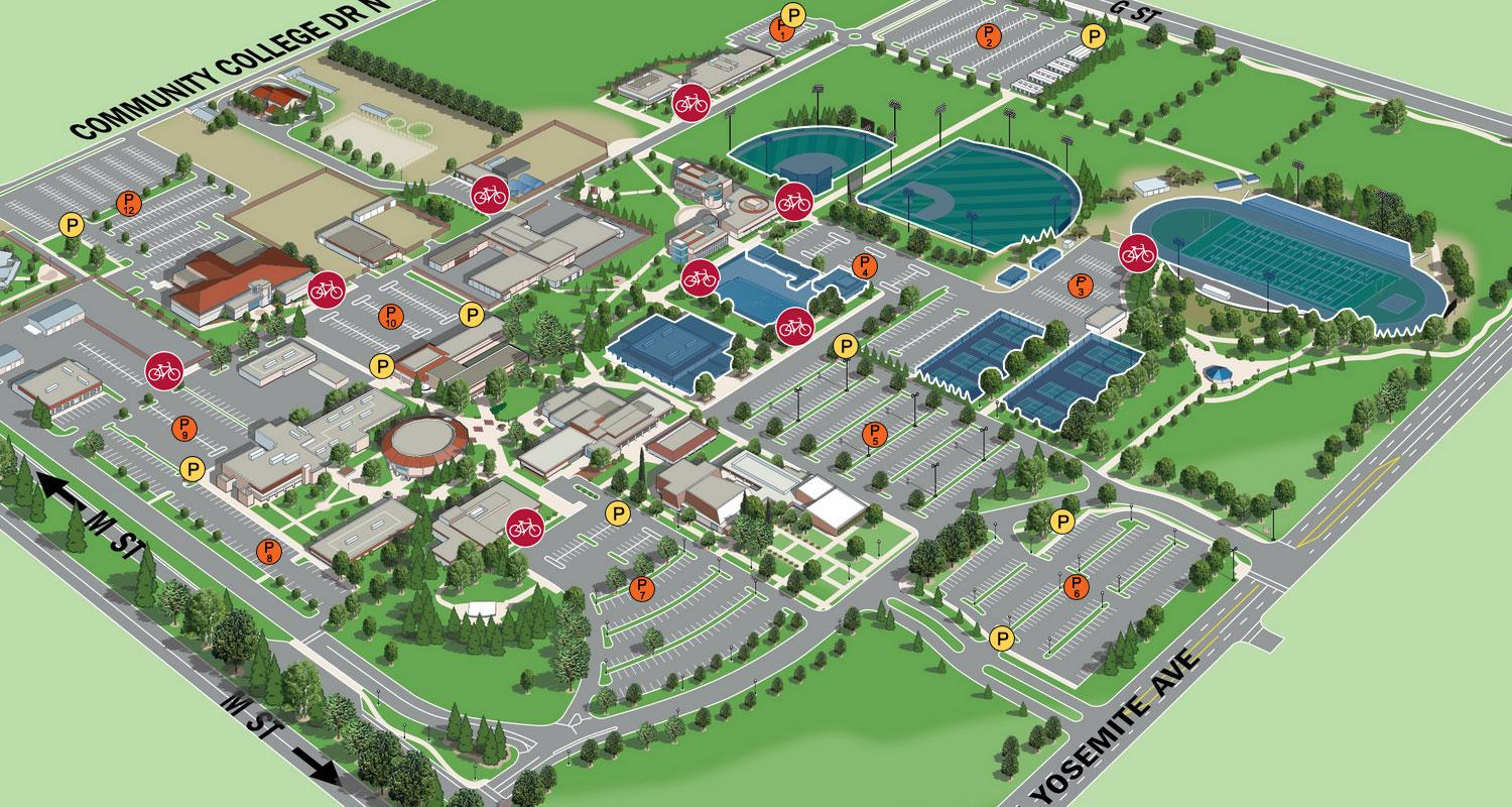 Introducing New Campus Map