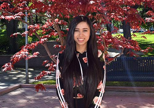 Blanca Ceja-Salas Selected Student of the Year