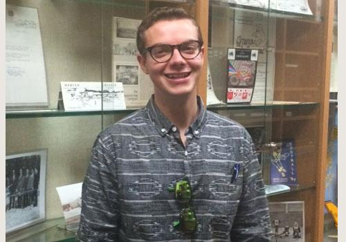 Nathan Penton is February's Student of the Month