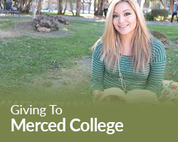 Giving to Merced College