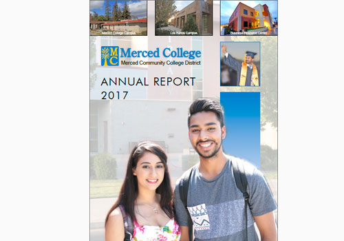 Merced College Releases 2017 Annual Report