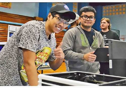 More than 100 Students Attend MC Science Fair