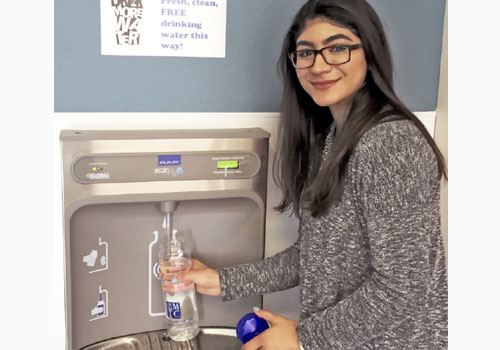Water Stations Save Thousands of Plastic Bottles