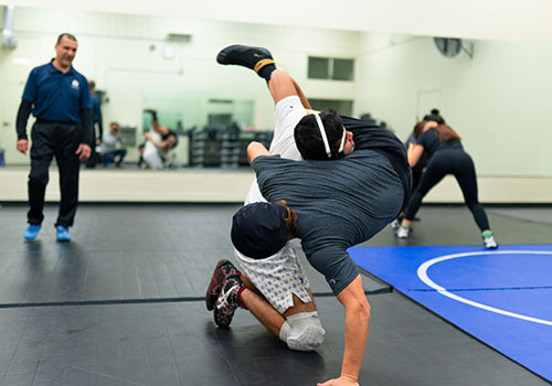 New Blue Devil Wrestling Club grappling for place in spotlight