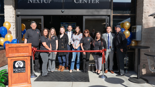 Merced College NextUp Center Celebrates Foster Youth Services with Grand Opening