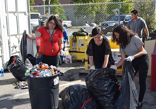 Merced College Honor Society Turns Plastic to Profit