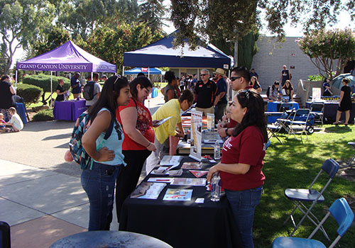 Transfer Day/College Night a Hit With Students