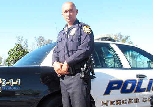 Merced College Welcomes New Police Officer