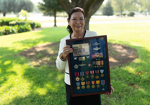 Wife of late Castle AFB Commander to make $1-million gift to Merced College
