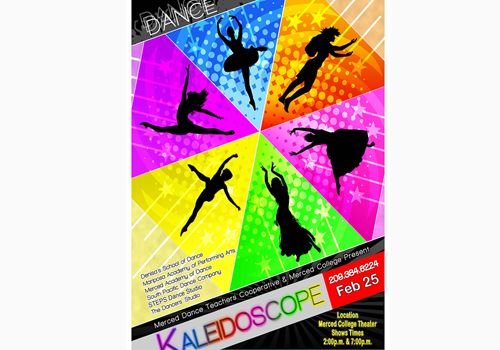 Annual Dance Kaleidoscope Comes to Merced College Stage