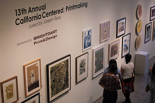 MC Students Get Exposure at Printmaking Exhibit
