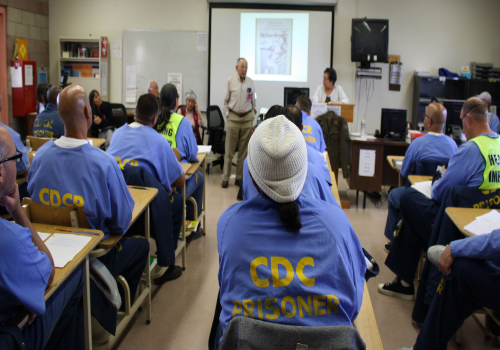 Award-winning author to engage incarcerated Merced College students at Valley State Prison