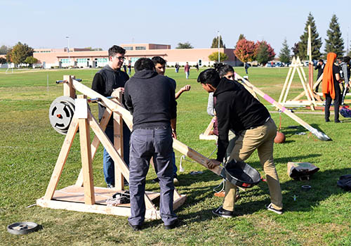 Siege Weapon Competition Hits Mark