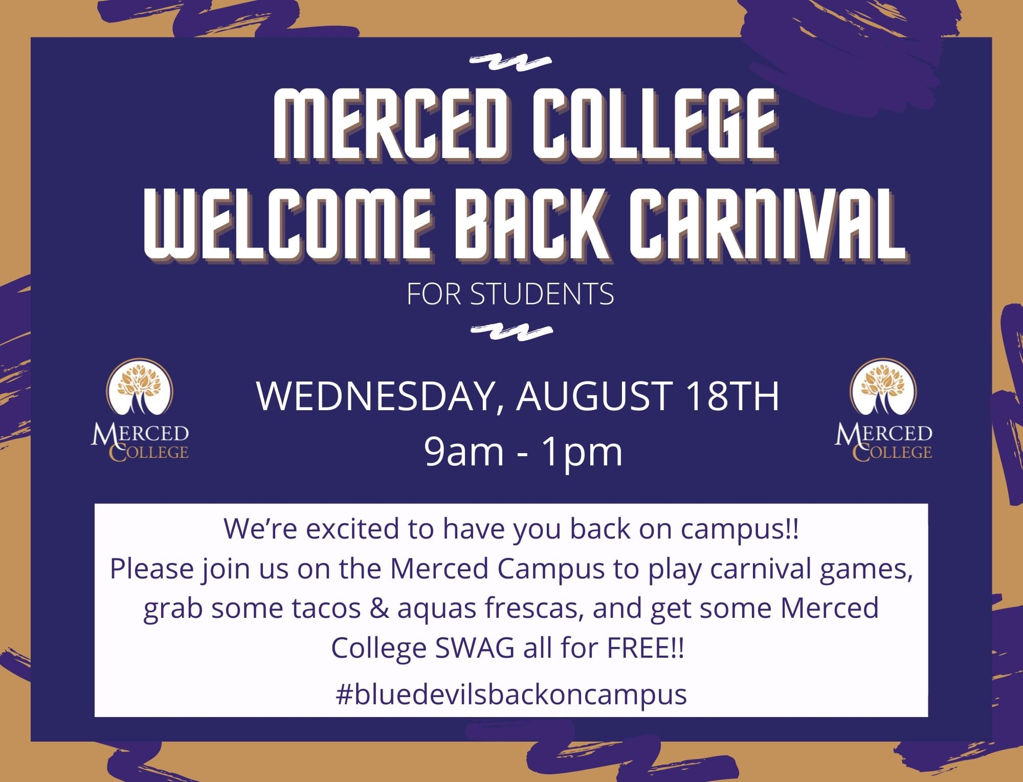 Merced College Welcome Back Carnival