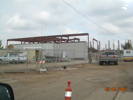 Business Resource Center Construction Photo
