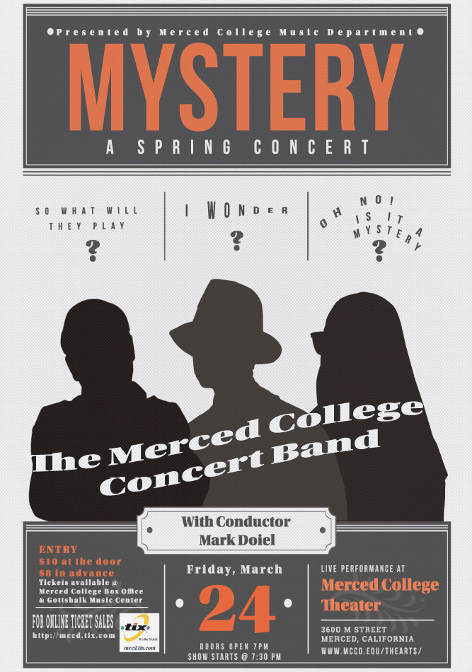 Poster for Concert Band