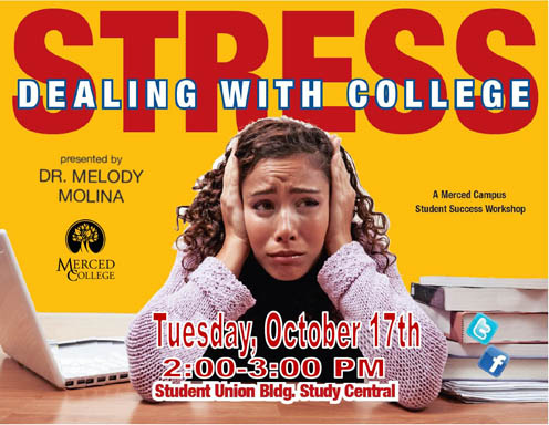 Flyer - Dealing with College Stress