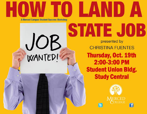 Flyer - How to Land a State Job