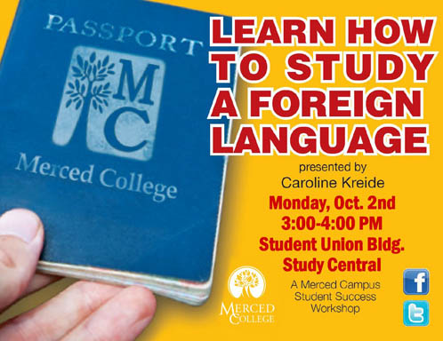 Flyer - How to Study a Foreign Language