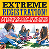 Extreme Registration at Merced Campus