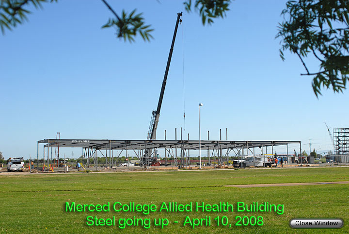 Allied Health Building construction