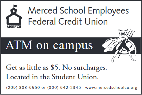 Merced School Federal Credit Union ad